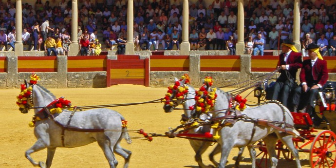 Ronda - Plaza de toros - Enganches